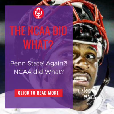The NCAA did WHAT?