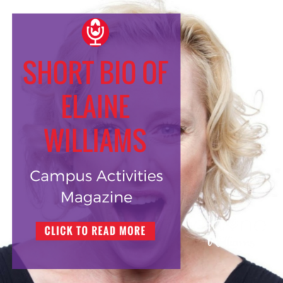 Elaine Williams – Campus Activities Magazine