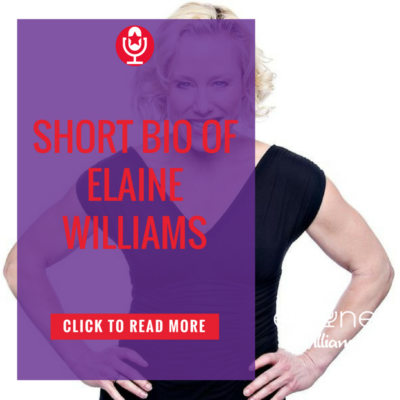 Today's Honoree is Elaine Williams