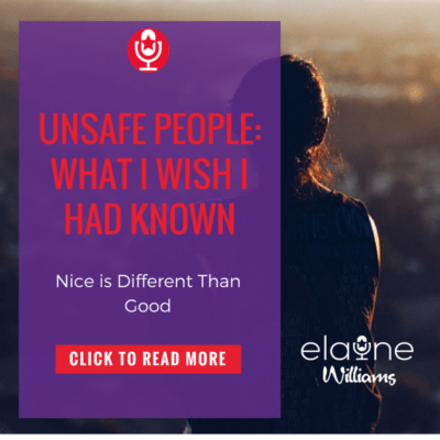Unsafe People: What I Wish I Had Known