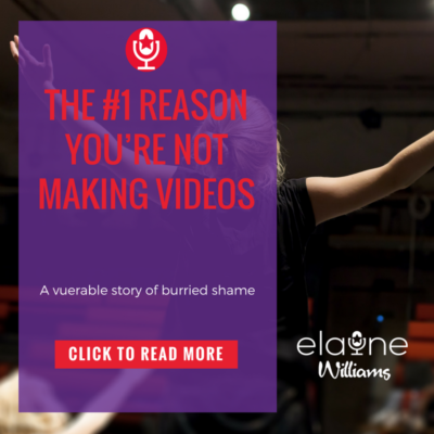 The #1 Reason You're Not Making Videos